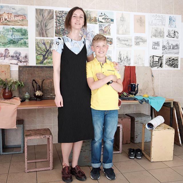 В художке после просмотра с Анной Владимировной