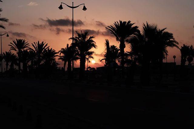 Первый восход #hammamet #sunrise #sea #восход #море