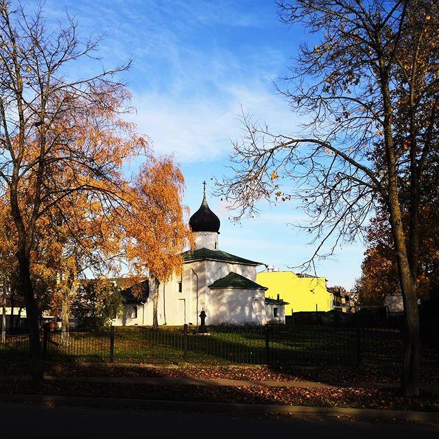 Церковь Николая Чудотворца от Каменной ограды #псков #храм #церковь #pskov #church