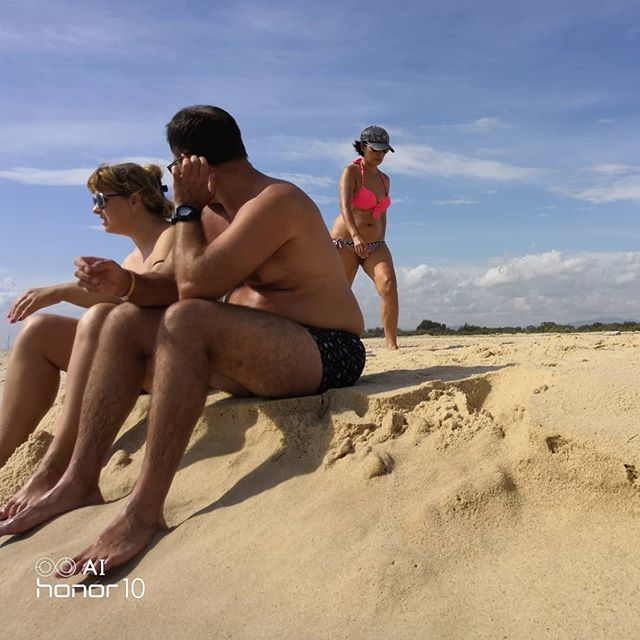Прогулка по пляжу Хаммамета #тунис #хаммамет #пляж #tunisia #hammamet #beach @hotelzodiachammamet