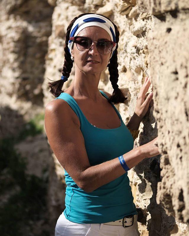 Ирина в развалинах терм Антония в Карфагене #псков #тунис #карфаген #портрет #tunisia #carthage #portrait #girls #pskov @irina_nemtseva
